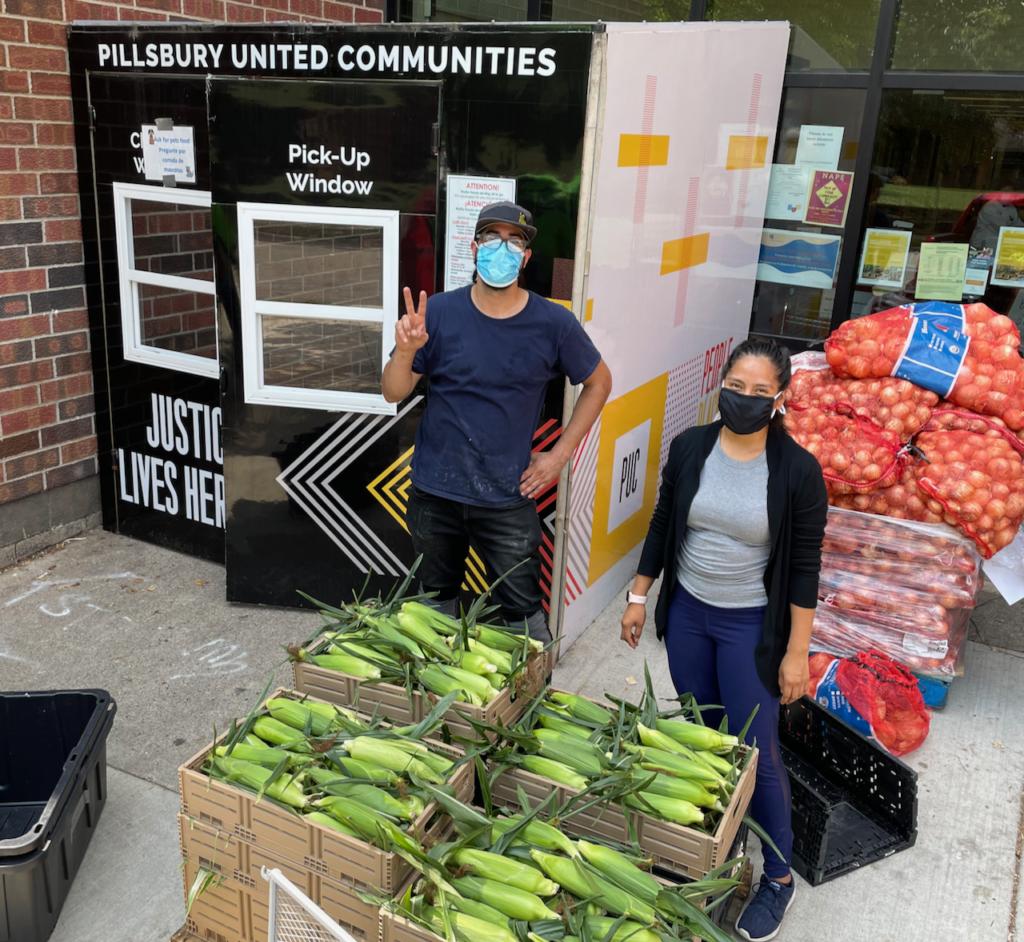 Fresh Sweet Corn delivered to Pillsbury United Communities