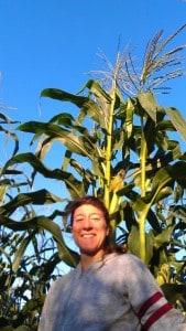Rina's Enormous Corn!